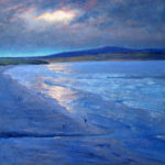 Winter afternoon 60cmx60cm oil on baord