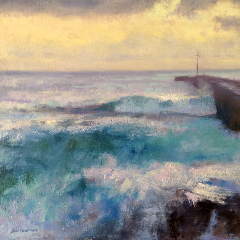 Porthleven waves