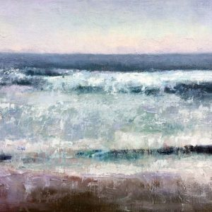 Loe Bar waves painting