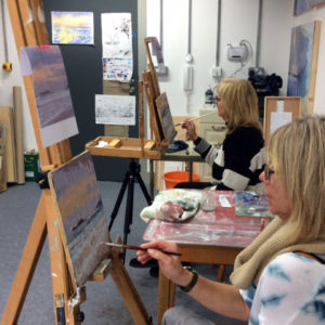 Oil painting workshop