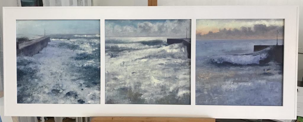 Porthleven-triptych