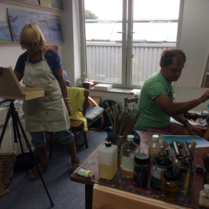 Oil painting workshops in Cornwall