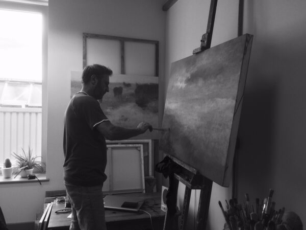 Oil painting workshops with Andrew Barrowman