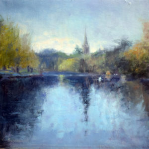 Stratford on Avon painting