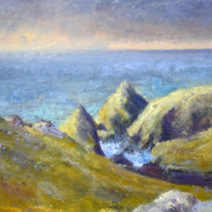 Mullion Cove morning plein-air