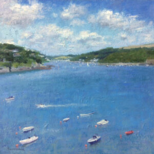 Looking up river - Salcombe