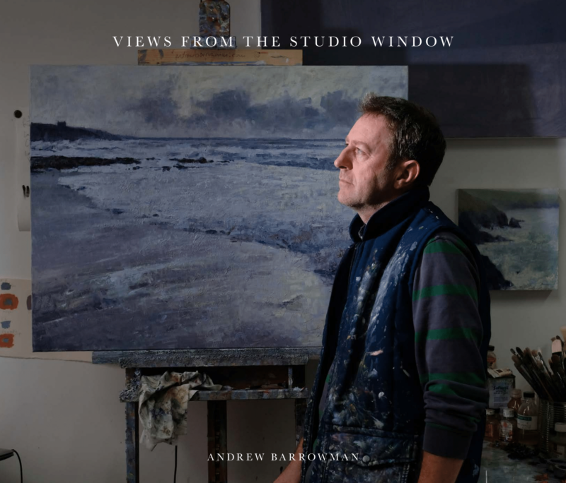 Book cover views from the studio window Andrew Barrowman